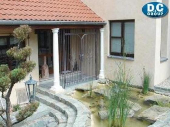 Ein Traumhaus in Deutschland Immobilienfrontal