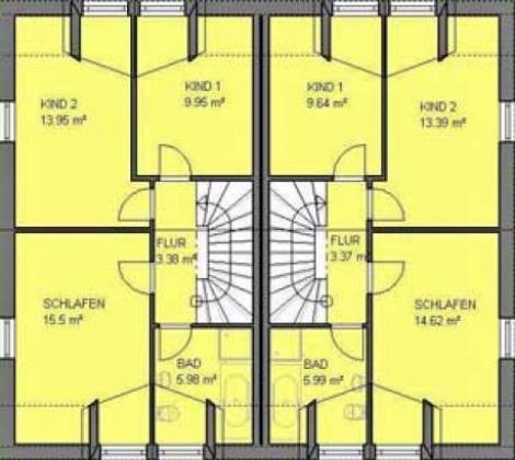 neubau doppelhaush lfte grundst ck ohne provision. Black Bedroom Furniture Sets. Home Design Ideas