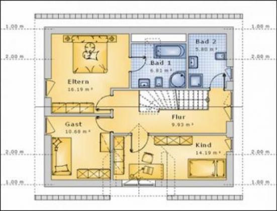 Tolles Haus mit Satteldach Erker und Balkon
